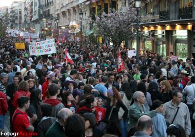Manifestación 25 de Marzo