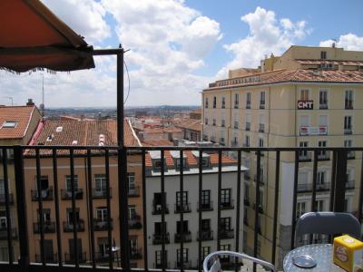 Granada en el cielo de Madrid